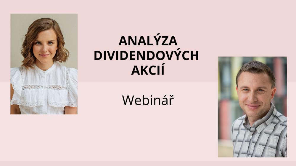 Jak analyzovat dividendové akcie? Záznam webináře